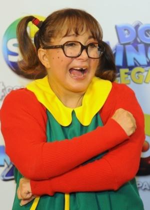 """Maria Antonieta de las Nieves como Chiquinha da série """"Chaves"""""""