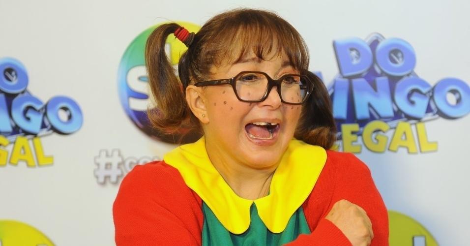 10.nov.2013 - Maria Antonieta de las Nieves, a