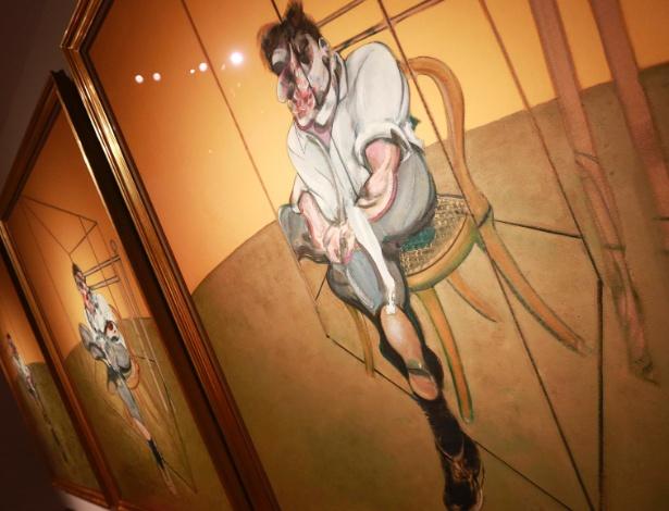 """Imagem do quadro """"Three Studies of Lucian Freud"""", de Francis Bacon; as autoridades espanholas não divulgaram os títulos das obras roubadas em Madri"""