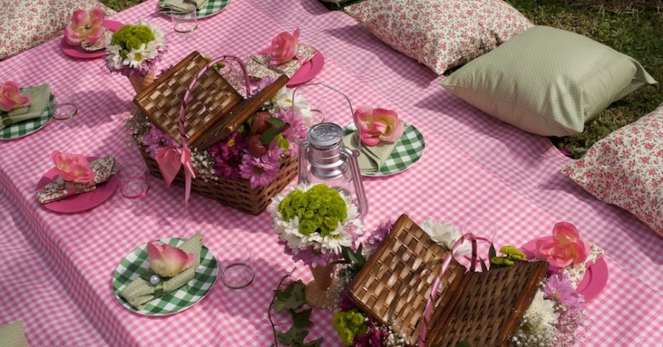 Veja ideias para organizar um piquenique para festejar aniversário