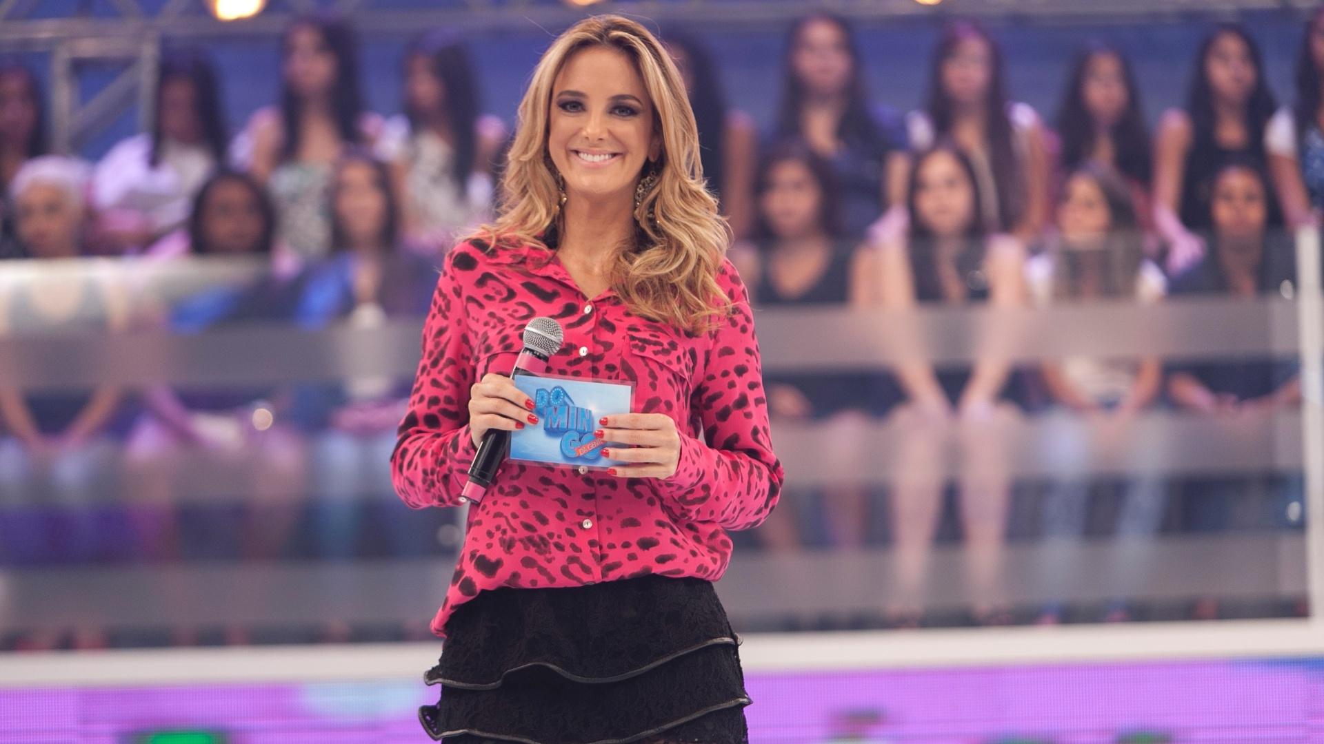 Nov.2013: Ticiane Pinheiro apresenta o