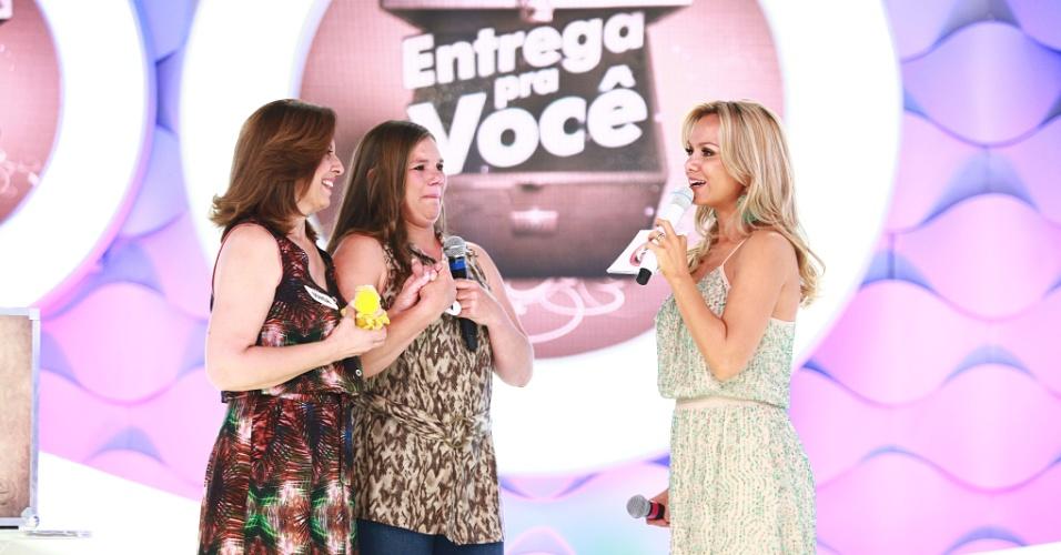 2013 - Eliana estreia quadro