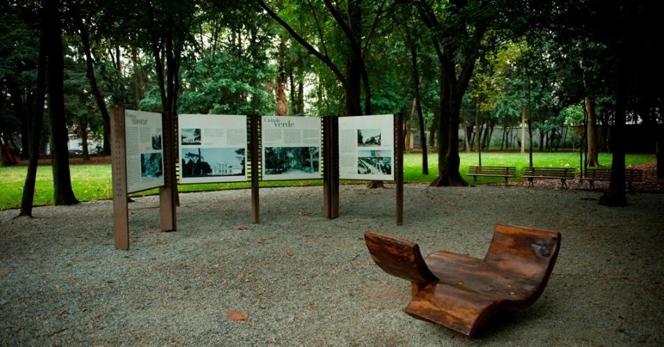 Jardim do MCB (Museu da Casa Brasileira), em São Paulo