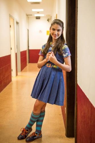 14.nov.2013 -  A atriz Giovanna Grigio que vive a Mili em