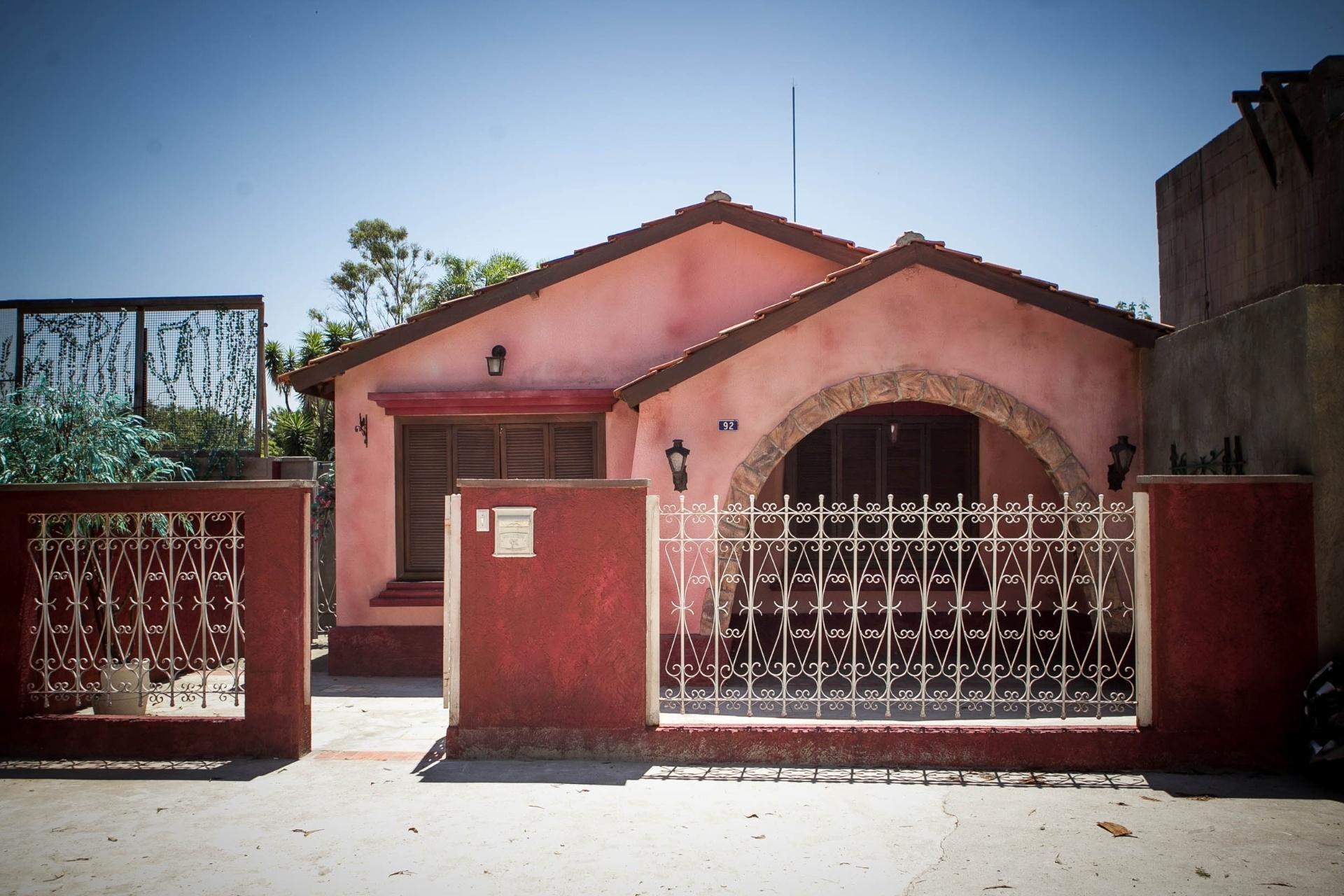 14.nov.2013 - Detalhe para casa da Carol (Manuela do Monte) na cidade cenográfica de