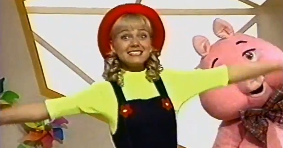 1996 - Eliana apresenta o infantil