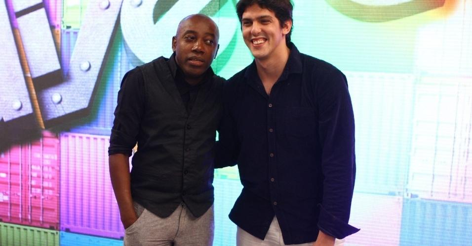 """21.nov.2013- Nando Cunha e Rafael Infante estão no elenco de """"Divertics"""""""