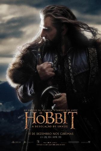 """Cartaz do filme """"O Hobbit: A Desolação de Smaug"""""""