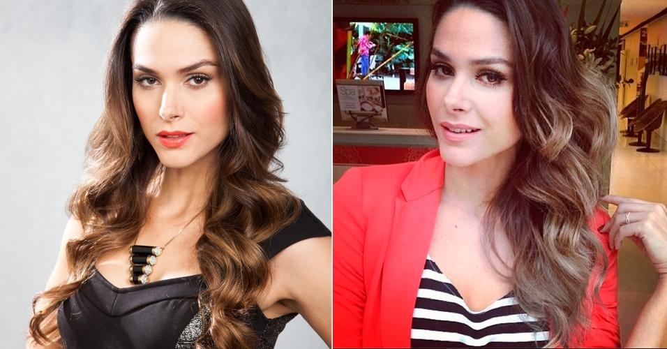 Novembro - A atriz Fernanda Machado, que vive a personagem Leila em