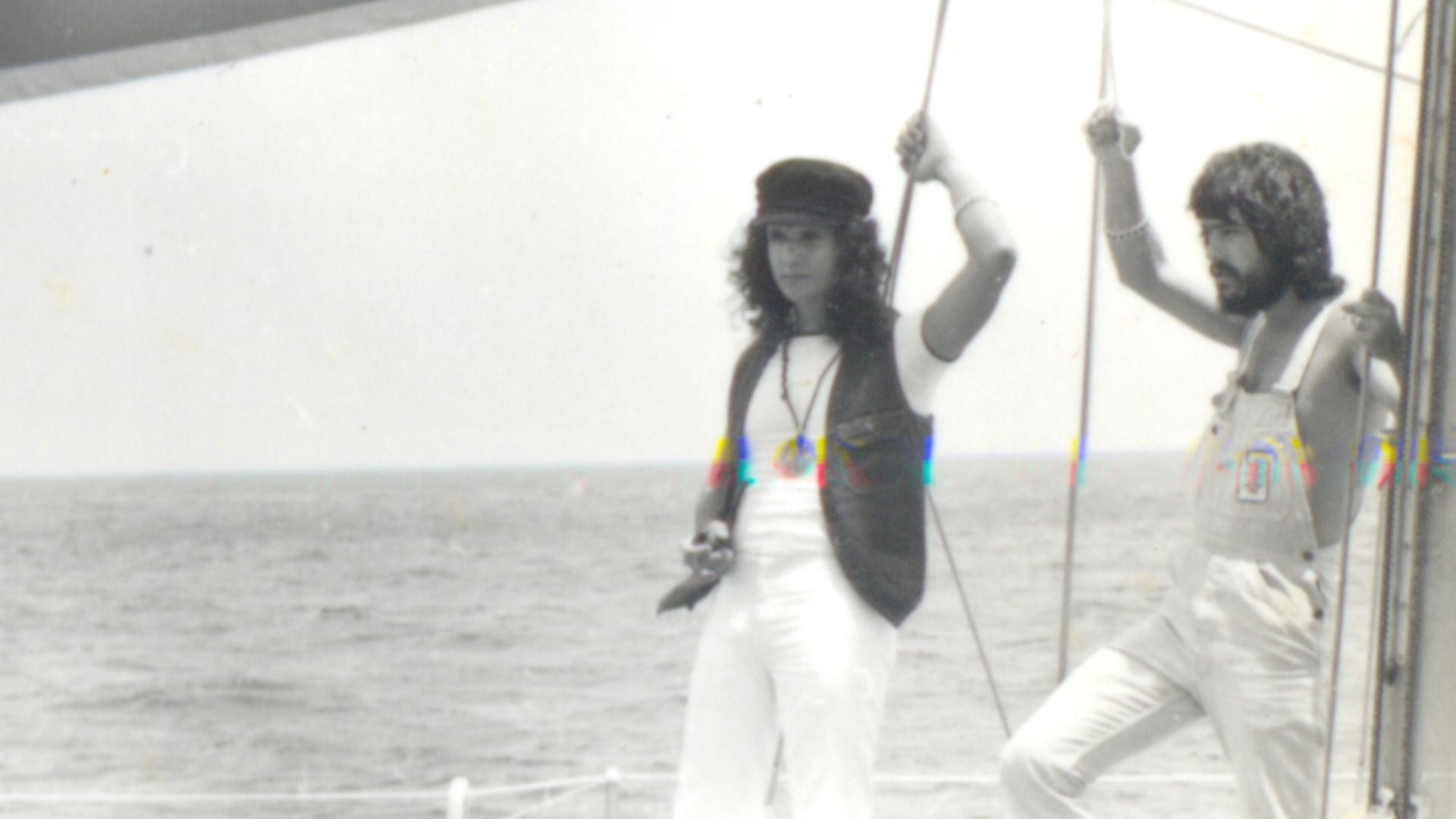 Roberto Carlos no especial de fim de ano exibido em 1974