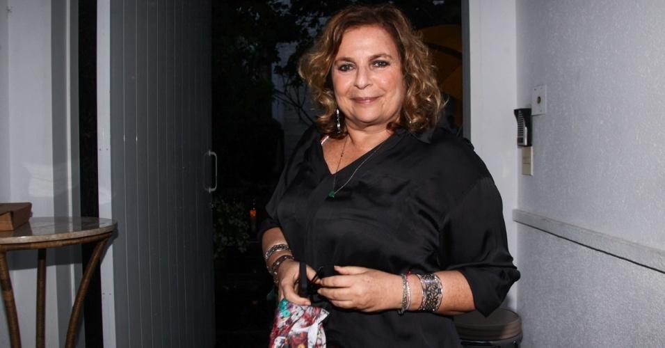 23.nov.2013 - Joyce Pascowitch no aniversário da jornalista Ticiana Villas Boas no Jardim Europa, em São Paulo