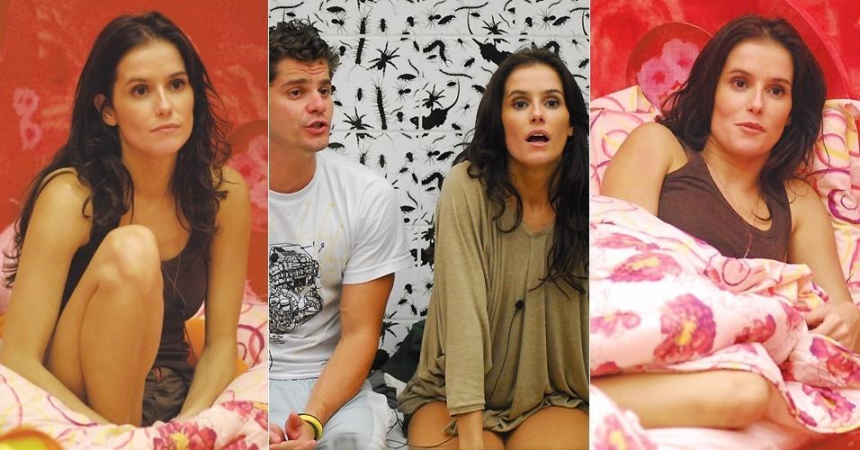"""14.mar.2008 - Viciada em """"Big Brother Brasil"""", Deborah Secco teve a chance de participar do reality show em 2008"""
