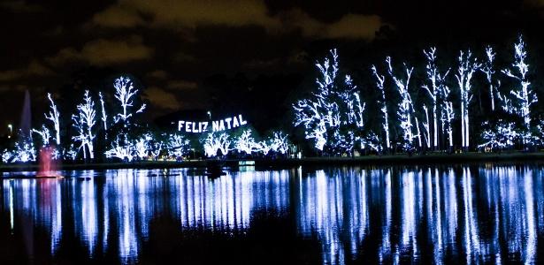 Iluminação de Natal do Parque do Ibirapuera em 2012