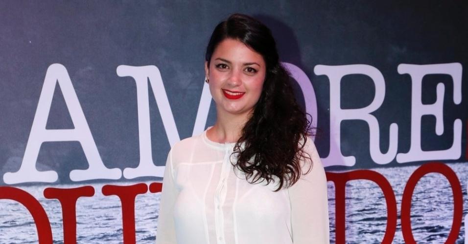 """28.nov.2013 - A atriz de RecifeThaysa Zooby estreia na TV em """"Amores Roubados"""" no papel de Ana Clara"""