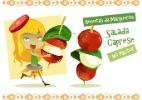 Aprenda a fazer uma refrescante salada no palito