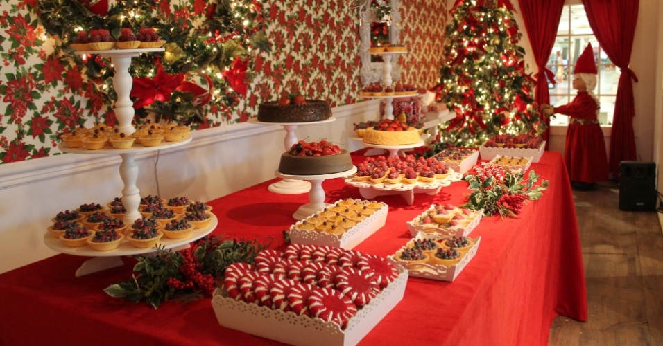 decoracao de interiores de casas para o natal natalinas dos shoppings
