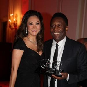 Pelé e Márcia namoram desde 2010
