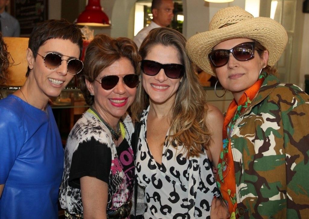 Lilian Pacce, Astrid Fontenelle, Ingrid Guimarães e Beth Lago