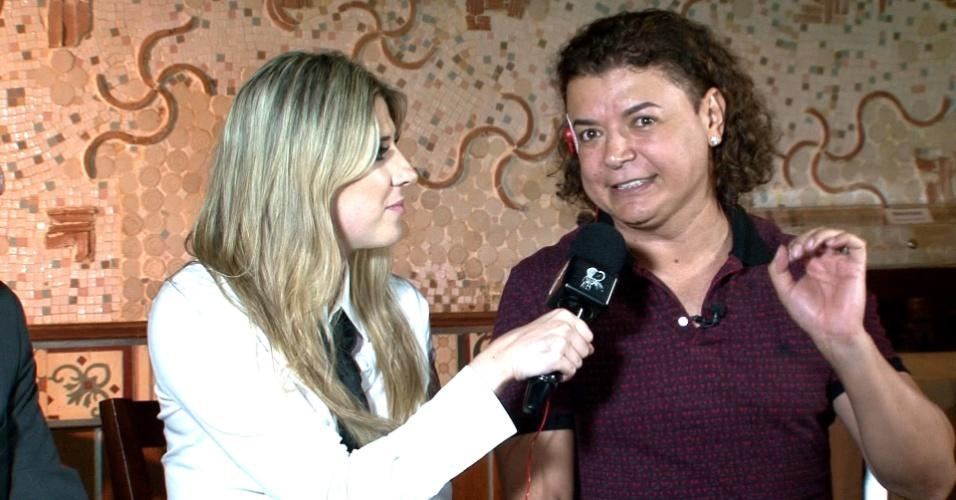 8.dez.2013 - Dani Calabresa gravou com David Brazil o último