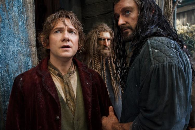 """Cena de """"O Hobbit: A Desolação de Smaug"""", de Peter Jackson"""