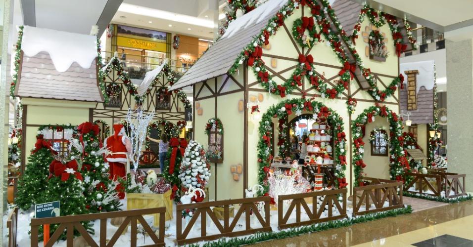 Shopping Anália Franco terá decoração de Natal até dia 31 de