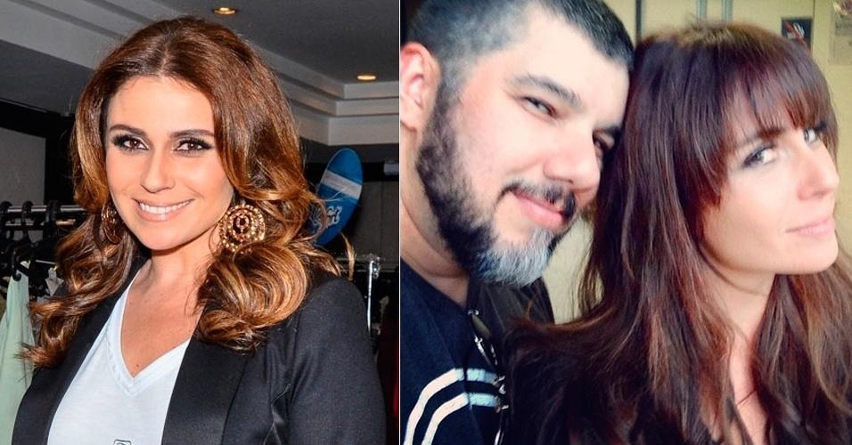 Dezembro - A atriz Giovanna Antonelli entregou seus fios aos cuidados do cabeleireiro carioca Ton Reis para compor sua nova personagem. Ela viverá Clara na novela