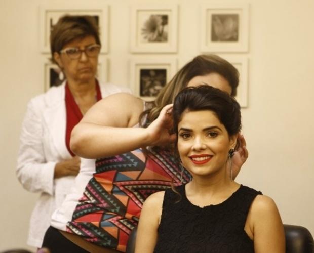 Vanessa estreou na TV Globo como a cabocla Zuca