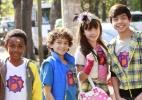 Crianças usam superpoderes e bugigangas para combater vilões em nova série - Lourival Ribeiro/SBT
