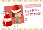 Receita divertida para o Natal: Papai Noel de morango