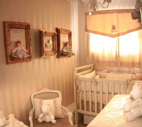 Quarto De Bebê Rústico Rosa E Verde Para Gêmeos Pictures  ~ Quarto Rustico De Bebe