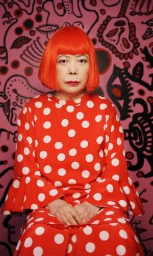 """Retrato Yayoi Kusama (2011). A exposição """"Obssessão Infinita"""" da artista plástica japonesa Yayoi Kusama fica em cartaz no CCBB RJ (Av. Primeiro de Março, 66, Centro) até 26 de janeiro de 2014. A visitação é de quarta a segunda, das 9h às 21h, com entrada gratuita."""