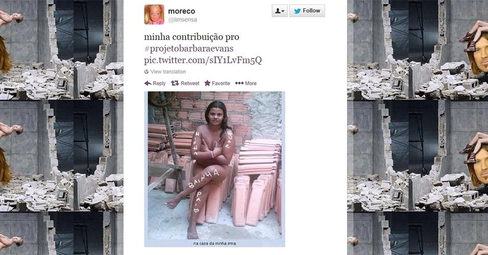 O internauta Moreco também deu sua contibuição ao