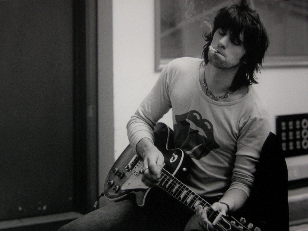O mítico guitarrista dos Rolling Stones Keith Richards