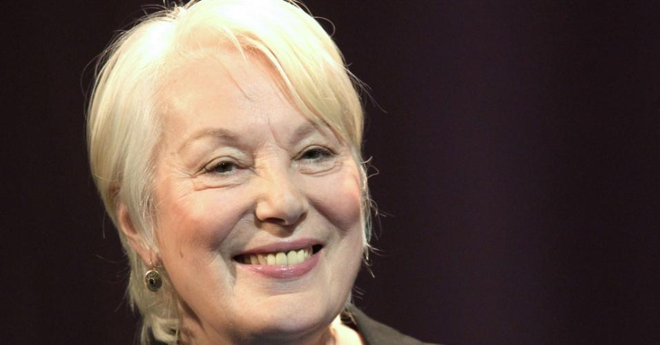 A atriz Bernadette Lafont