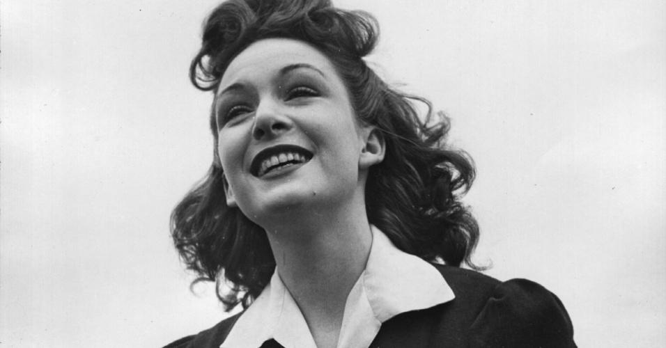 A atriz Jean Kent