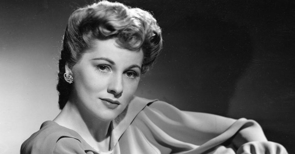 A atriz Joan Fontaine