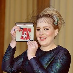 Adele agora é Membro da Ordem do Império Britânico