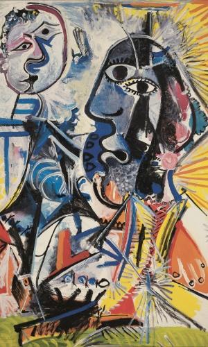 """Obra de Picasso, presente na exposição """"Visões da Coleção Ludwig"""", em cartaz de 25 de janeiro a 7 de abril no CCBB SP"""
