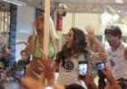 Nathalia Timberg e Ary Fontoura gravam o casamento de Bernarda e Lutero - Divulgação/TV Globo