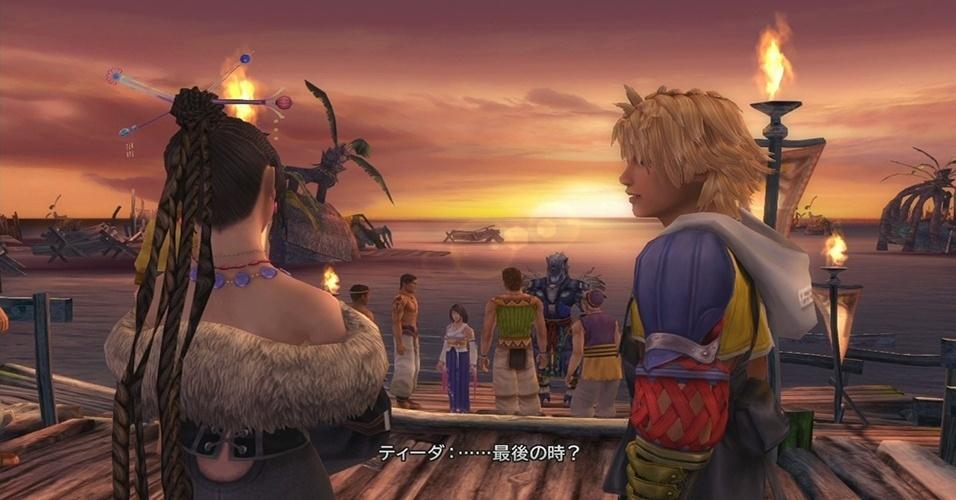 """Celebrando um dos maiores clássicos do PlayStation 2, """"Final Fantasy X/X-2 HD"""" para PS3 e Vita traz o jogo original e sua sequência remasterizados"""