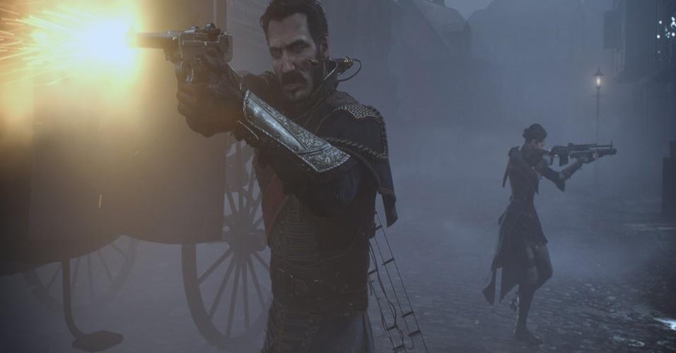 """Com seu visual vitoriano e estilo steampunk, o jogo de tiro em terceira pessoa exclusivo para PS4 """"The Order: 1886"""" é um dos mais chamativos desta primeira onda da nova geração de consoles"""