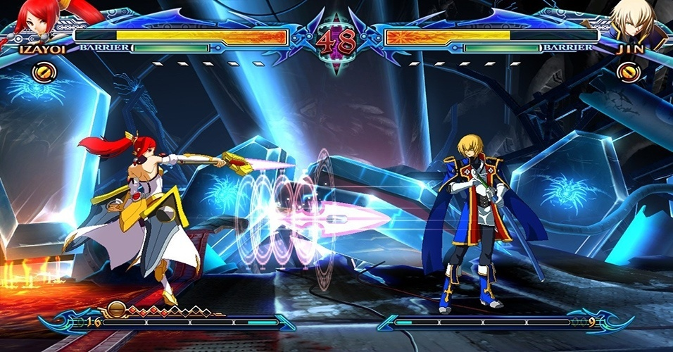 "Exclusivo do PS3, ""BlazBlue: Chronophantasma"" substitui Gold Bursts por Overdrives, e inclui sete novos lutadores"