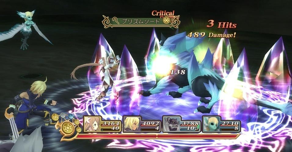 """Exclusivo para PS3 e em quantidade limitada, """"Tales of Symphonia Chronicles"""" celebra os dez anos da saga ao remasterizando os dois jogos da franquia."""