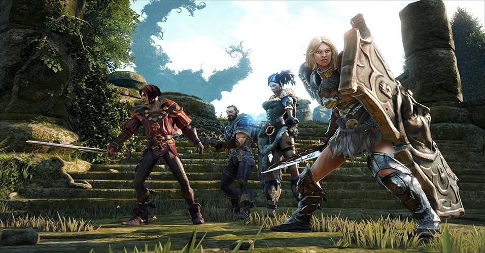"""""""Fable Legends"""", exclusivo de XBO, leva a série de fantasia idealizada por Peter Molyneux para arenas de combate de MOBAs"""