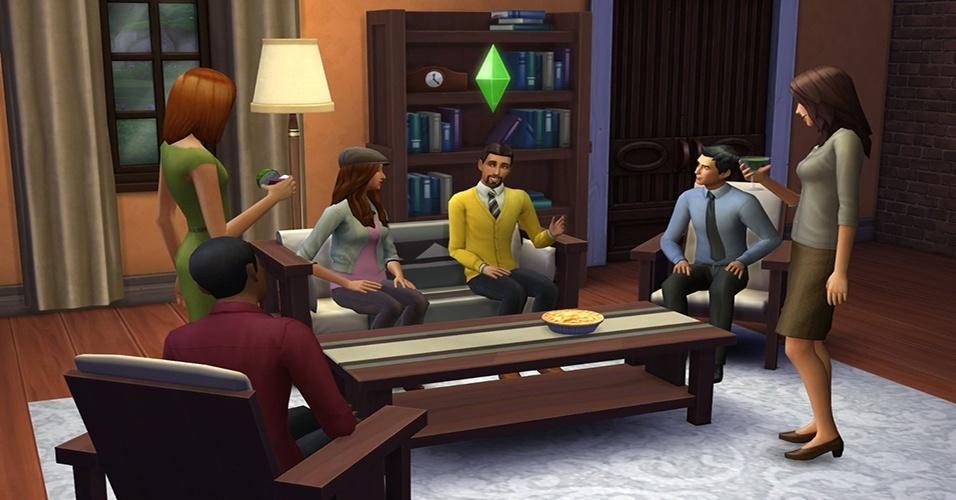 """Na nova iteração da franquia de sucesso da Electronic Arts, """"The Sims 4"""" (Windows e Mac), os Sims serão capazes de fazer múltiplas habilidades ao mesmo tempo"""