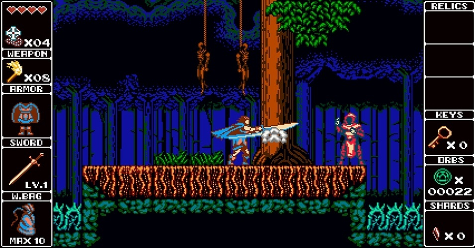 """""""Odallus"""" (Windows, Mac, Linux) é jogo desenvolvido pelo estúdio brasileiro Joymasher, e inspirado nas versões do NES de """"Castlevania"""" e já tem um demo disponível"""