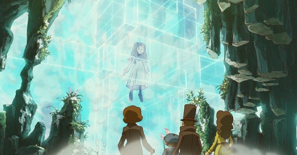 """""""Professor Layton and the Azran Legacy"""" (3DS) completa a trilogia de prequels e será o último da série a ter o encartolado professor como protagonista"""