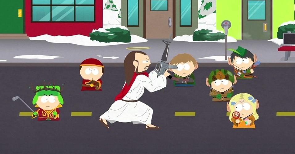 """Sobrevivente de atrasos e uma falência, """"South Park: The Stick of Truth"""" (PC, PS3 e X360) tem a data definitiva de 4 de março -- Por enquanto."""