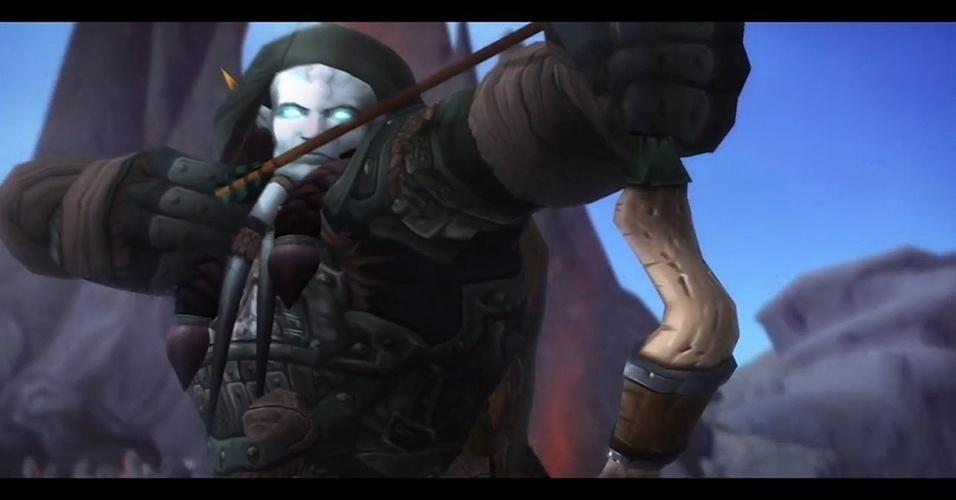 """Subindo o nível máximo de 90 para 100 e com o mundo de Draenor - terra natal dos orcs - para se explorar, """"Warlords of Draenor"""" (Windows, Mac) é a quinta expansão de """"World of Warcraft"""""""