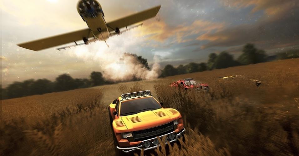"""The Crew"" (Windows, PS4, XBO) leva o jogador por corridas em todo o território continental dos Estados Unidos, enfrentado climas e terrenos diferentes durante seu trajeto"